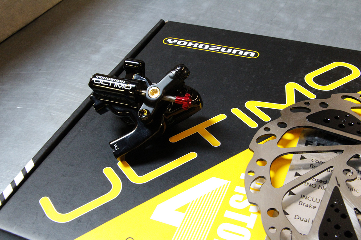 Yokozuna Ultimo Flat Mount Disc Brake packaging